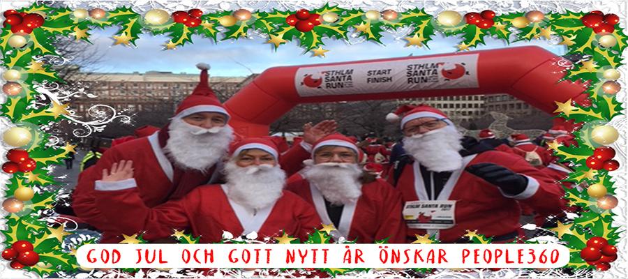 God Jul och Gott Nytt År önskar People360